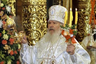 Mirė Rusijos ortodoksų patriarchas Aleksijus II