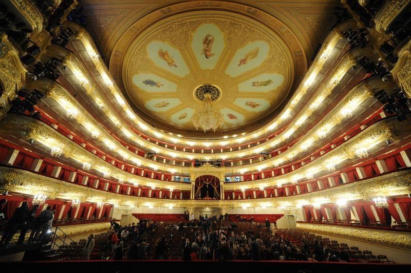 Didžiojo teatro rekonstrukcija – 1,2 mlrd. dolerių