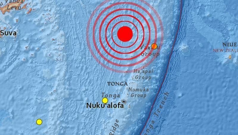 Tongą supurtė 6,5 balo žemės drebėjimas