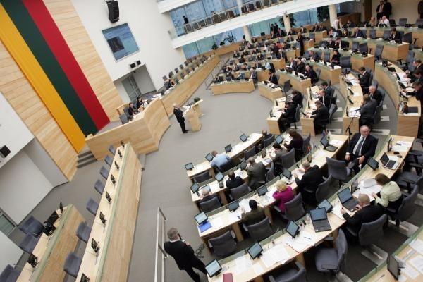 Seime bus paminėtas Baltijos šalių okupaciją pasmerkusios rezoliucijos 50-metis