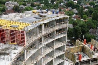 Krizė nesustabdys aukščiausio Vilniaus pastato statybų