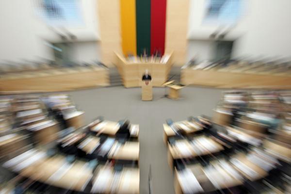 Vyriausybės siūlomų 87,8 mln. Lt Seimui kitąmet neužteks