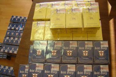 Kontrabandiniai rūkalai turgaus nepasiekė