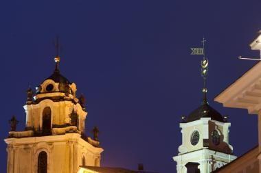 Prezidentė nenorėtų, kad Šv.Jonų bažnyčia būtų atimta iš VU