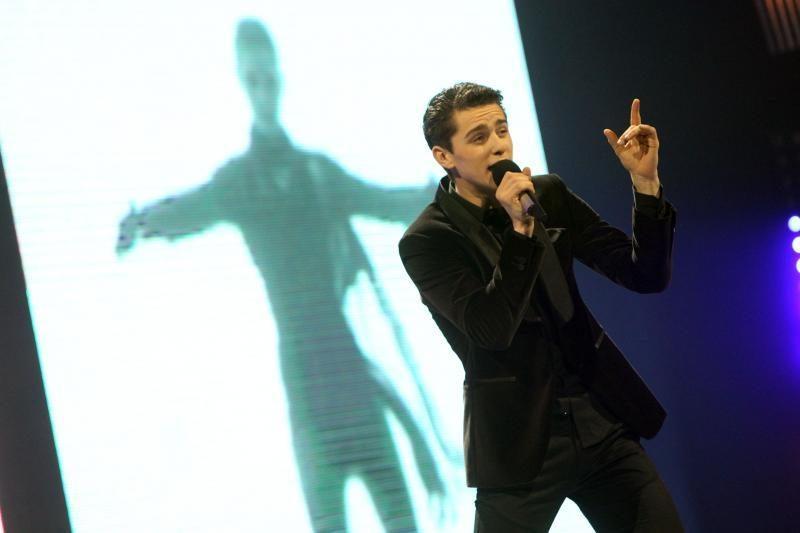 """D.Montvydas """"Eurovizijos"""" antrajame pusfinalyje dainuos paskutinis"""