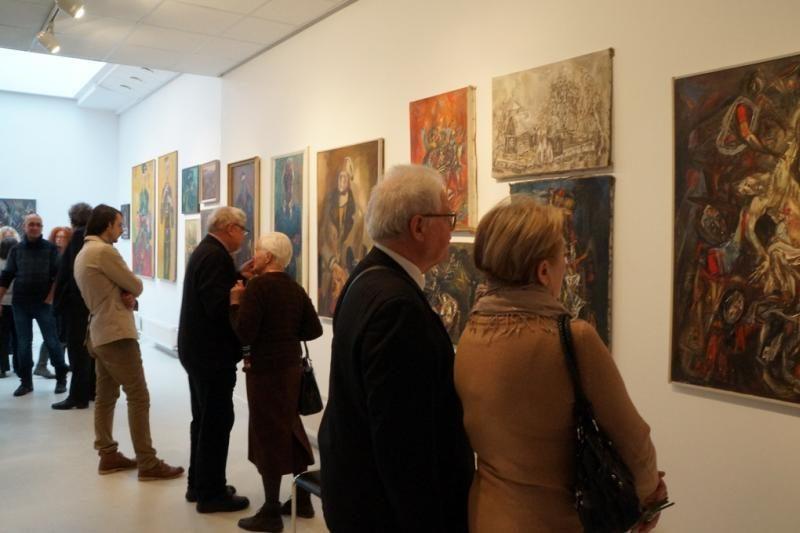 Kūrybiniai  susitikimai – meno ekspozicijoje Klaipėdos parodų rūmuose