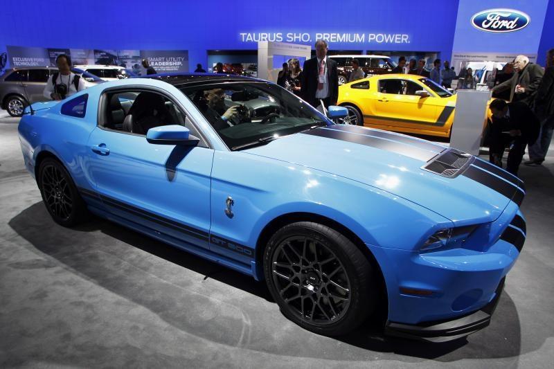 """Nuožmiausias iš """"Mustangų"""": """"Shelby GT 500"""""""