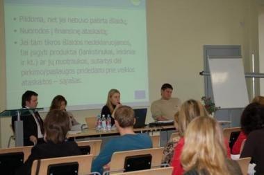 Lietuvos įmonės suskubo mokytis dirbti efektyviai
