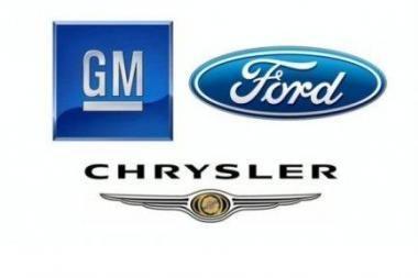 Amerikos automobilių pramonė - ant bankroto slenksčio