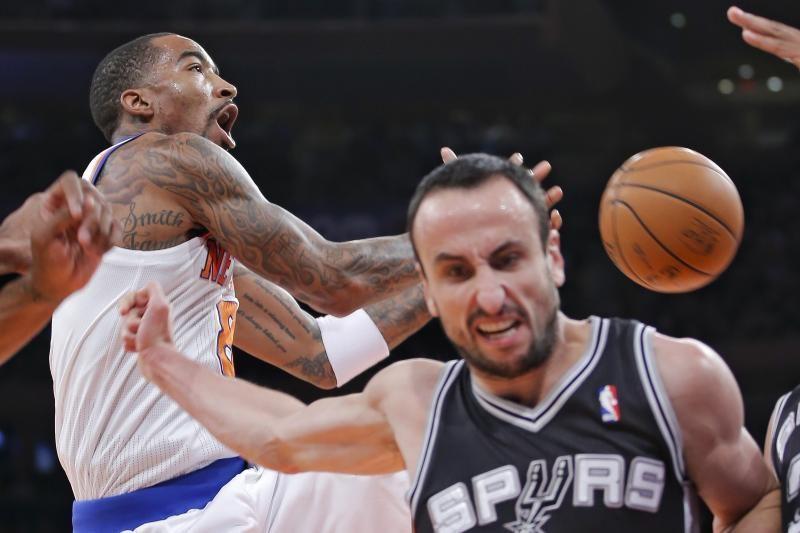 "NBA: ""Spurs"" pergalę apkartino E. Ginobilio trauma (rezultatai)"