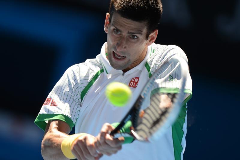 "N. Džokovičius pergale pradėjo ""Australian Open"" karūnos gynybą"