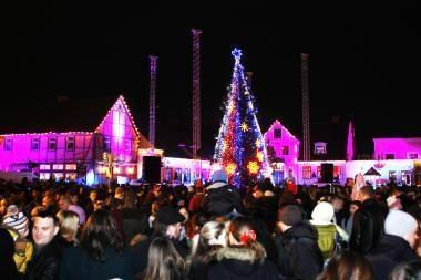Norėsite kalėdinių renginių Klaipėdoje? Teks visiems