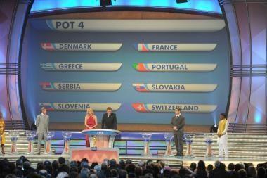 Ištraukti 2010 metų pasaulio futbolo čempionato burtai