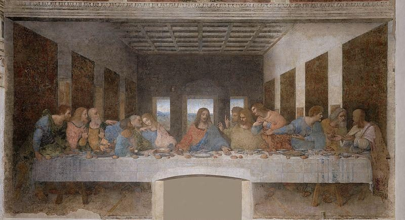 """Paskutinėje vakarienėje"" L. da Vinci dukart pavaizdavo save?"