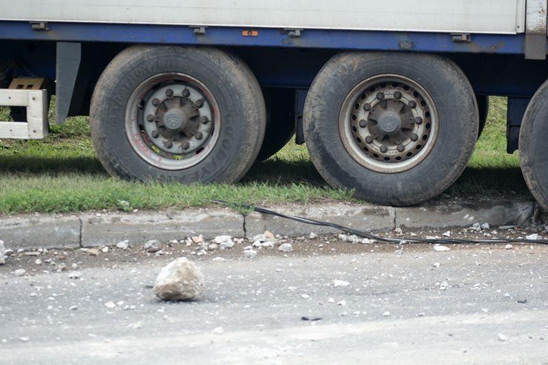 Norvegijoje lietuvio vairuojamas sunkvežimis nuvirto nuo skardžio