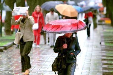 Orai Kaune: savaitė bus lietinga, bet šilta