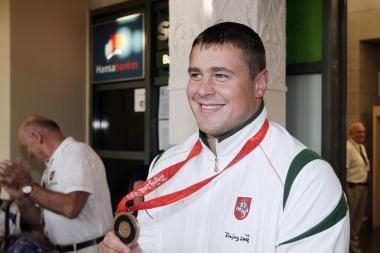 M.Mizgaitis - tarptautinio graikų-romėnų imtynių turnyro nugalėtojas