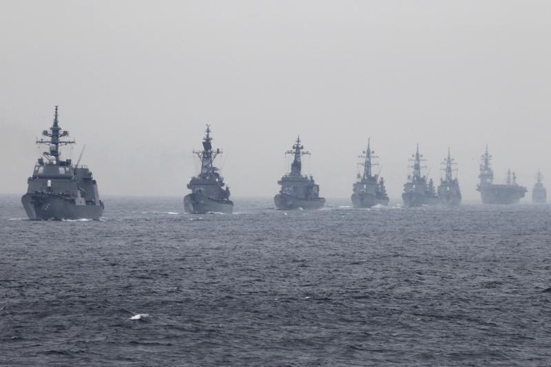 Kinijos jūrų pajėgų laivai priartėjo prie Japonijos salos