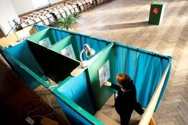 Šilalės-Šilutės apygardos rinkėjai šiek tiek aktyvesni (atnaujinta 14.30 val.)