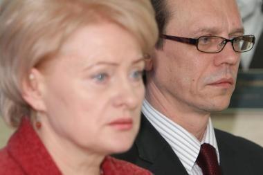 D.Grybauskaitės ir A.Šemetos nuomonės išsiskyrė