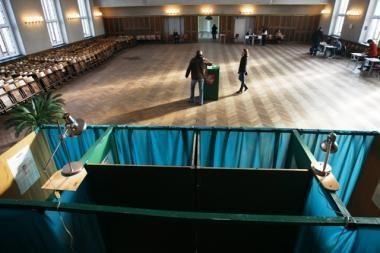Penktadienis - paskutinė diena agituoti rinkimuose į dvi laisvas vietas Seime