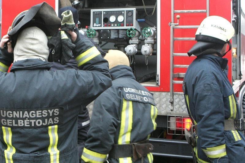 Per gaisrą Alytaus  rajone žuvo vyras