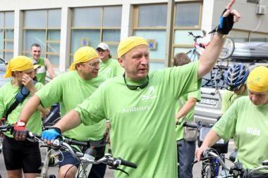 A.Kubilius pakvietė A.Lukašenką į dviračių žygį Baltarusijoje