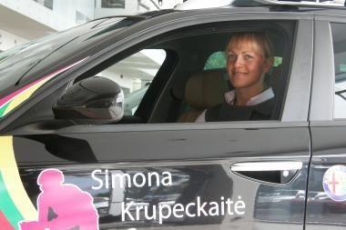 S.Krupeckaitė tikisi derlingo sezono