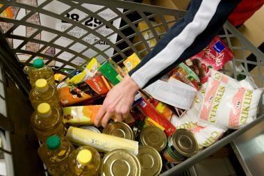 """""""Maisto bankui"""" paaukota produktų už 670 tūkst. litų"""