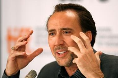 N.Cage'as pelnė JT apdovanojimą už humanitarinę veiklą