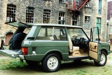 """""""Range Rover"""" švęs 40 metų jubiliejų"""
