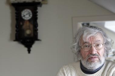 Mirė poetas Sigitas Geda
