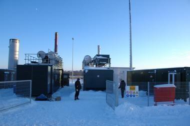 Iš Kalotės sąvartyno dujų jau gaminama elektra