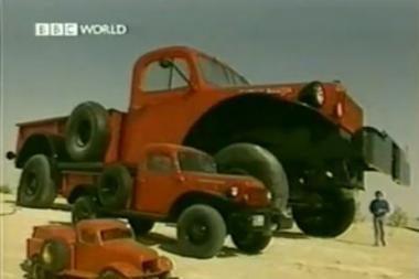 Turtuolio užgaida - gigantiškas sunkvežimis