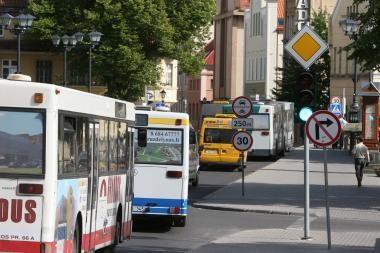 Atsisakoma nuostolingo miesto autobusų maršruto