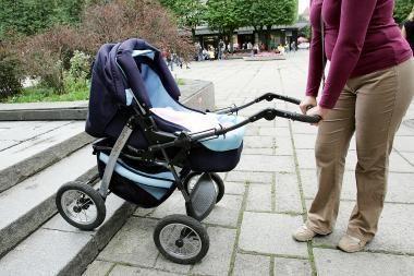 Seimo komitetas motinystės pašalpą siūlo mokėti tik metus