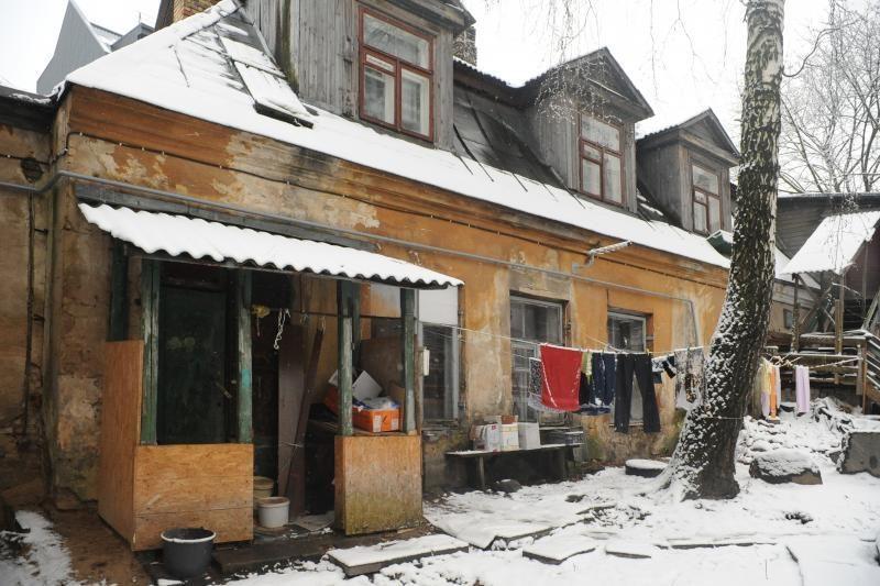 Vilniaus centre - griūvančios sienos detektyvas