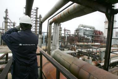 D.Grybauskaitė apie gamyklos Mažeikiuose pardavimą duomenų neturi