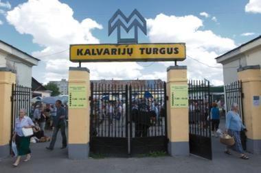 Siūloma stabdyti Kalvarijų turgaus nuomos konkursą