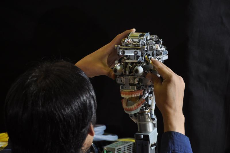"""Atsargiai! Neįsimylėkite! Ji – tik robotas """"Geminoid F"""""""