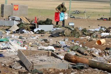 Dagestane mirtininkui atakavus karinę dalį žuvo mažiausiai trys kariai