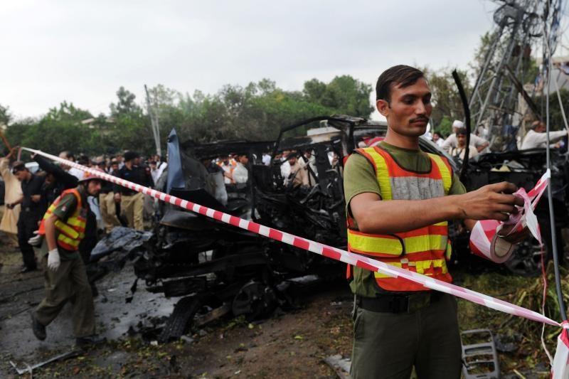 JAV patvirtino pranešimus apie išpuolį prieš konsulato automobilį