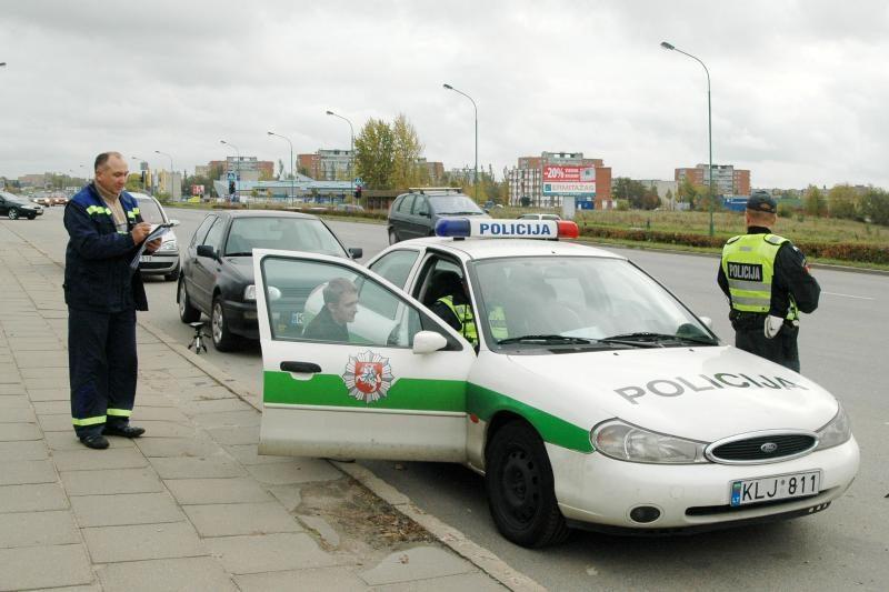 Klaipėdos policija aukcione pardavinės savo turtą