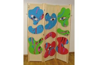 Širmų paroda: baldai virto meno kūriniais