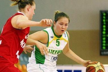 Lietuvos merginos įveikė Baltarusijos krepšininkes