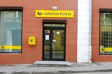 Naujas paštas Vilniuje