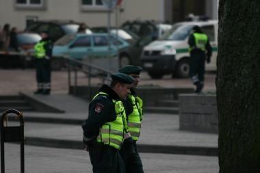 Plėšikus Totorių g. policija sulaikė iškart po nusikaltimo