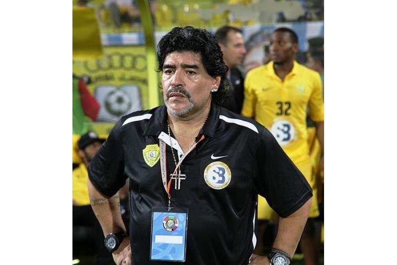 D.Maradona tapo arabų šalies sporto funkcionieriumi