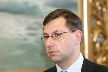 Prezidentė išsakė gražių žodžių apie ministrą G.Steponavičių