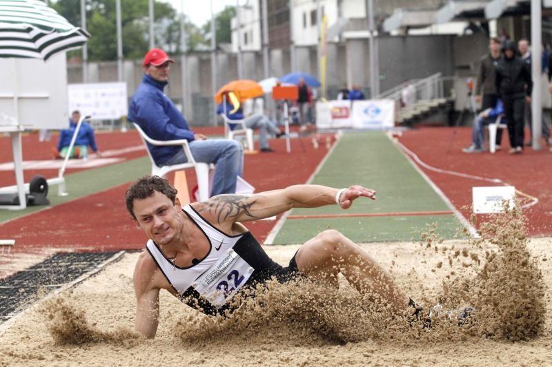 Lietuvos olimpietis laimėjo šuolio į tolį varžybas Airijoje
